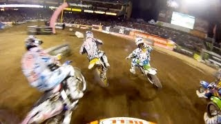 GoPro HD: Anaheim 2 Race Monster Energy Supercross 2011
