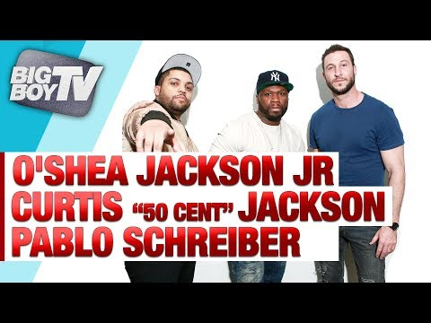 Curtis Jackson, O'Shea Jackson Jr. & Pablo Schreiber on Their New Movie 'Den of Thieves'