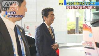 G20前に各首脳外交活発 安倍総理は立て続けに8会談(19/06/27)