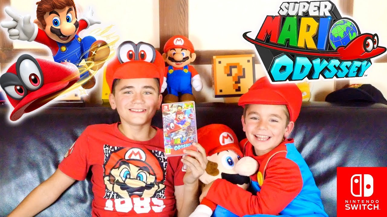 Swan Néo Testent Super Mario Odyssey Nintendo Switch Partie 12