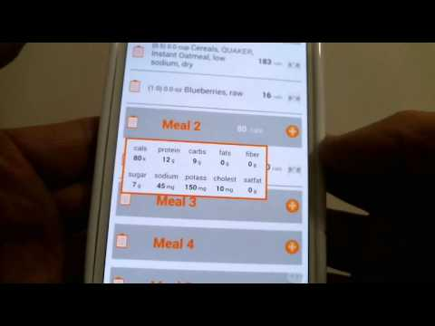 EfitX - NUTRITION - Using the Journal