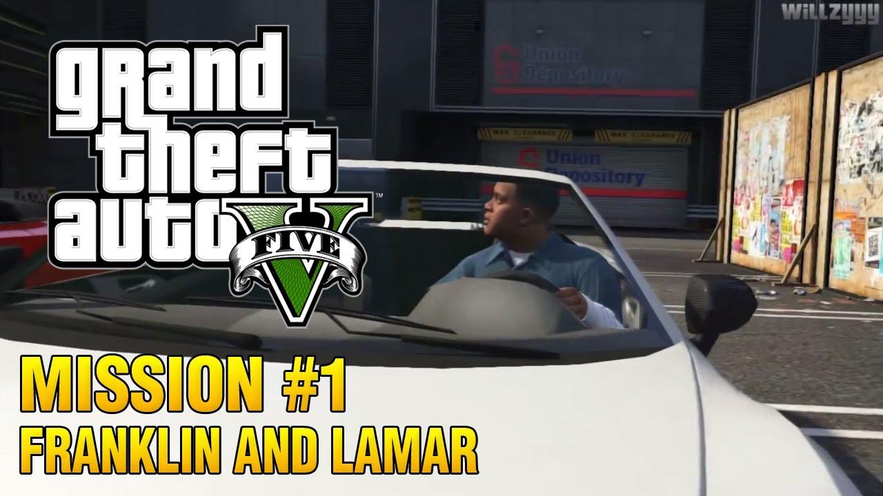 Don Franklin Auto >> Grand Theft Auto V - Intro & Mission #1 - Franklin and Lamar - YouTube