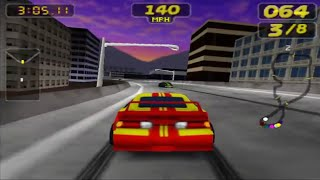 Rush 2: Extreme Racing USA (Nintendo 64 Gameplay)