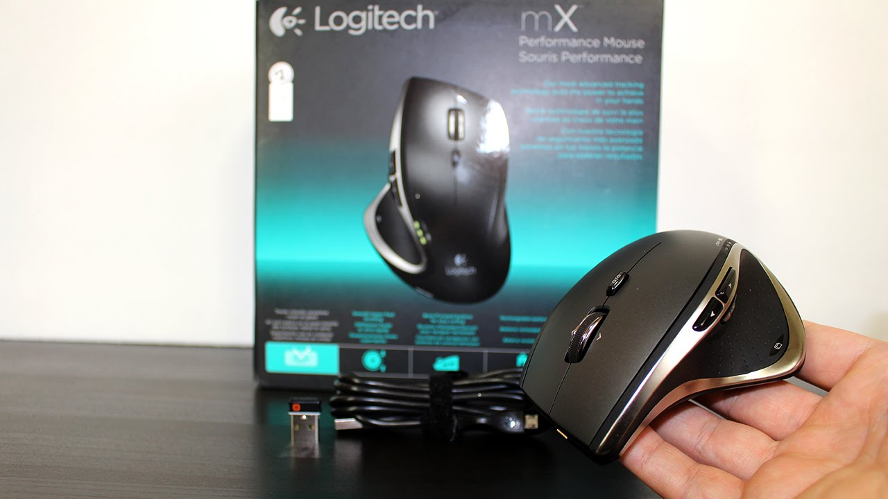 84175e29b02 Logitech Performance Mouse MX - Review | Online Tech Review - YouTube