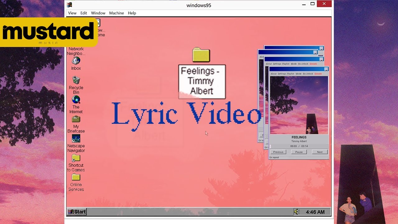 Timmy Albert - FEELINGS (Official Lyric Video)