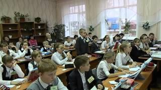 Открытый урок в соответствии с прохождением программы на момент конкурсного испытания в 7 классе -03