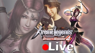 Dynasty Warriors 4 Xtreme Legends - LIVE -  Shu Story Mode Expert Difficulty