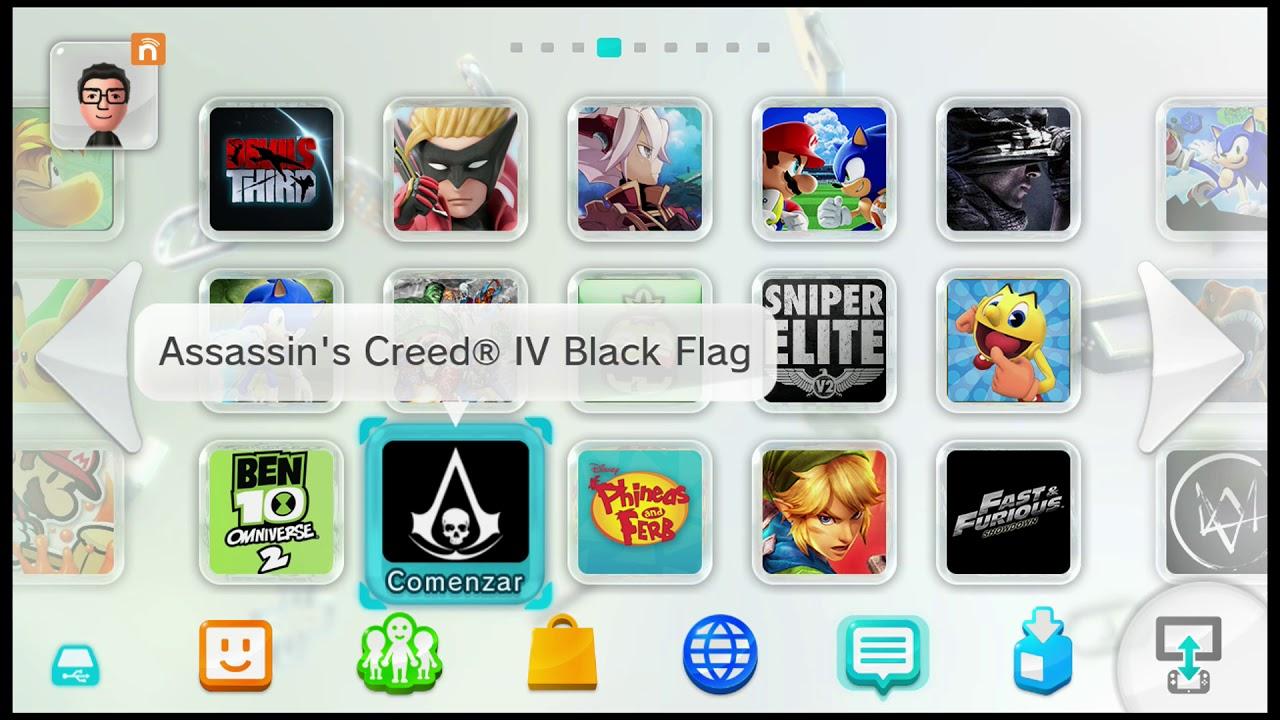 Nintendo Wii U Lista De Juegos 2018 Cfw Haxchi 500gb Youtube