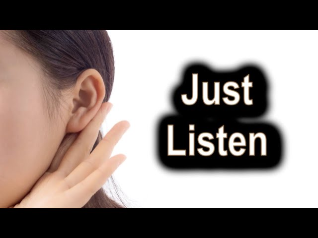 Just Listen - Ecclesiastes 5:1-12 - September 10th, 2020