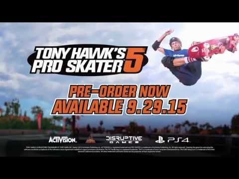Tony Hawk's Pro Skater 5 - Video