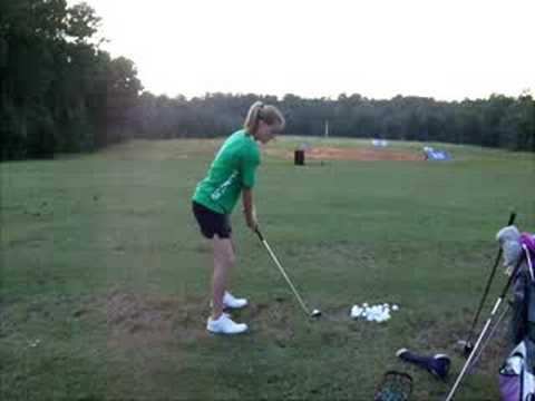 Abbie Harris Golf Swing 2