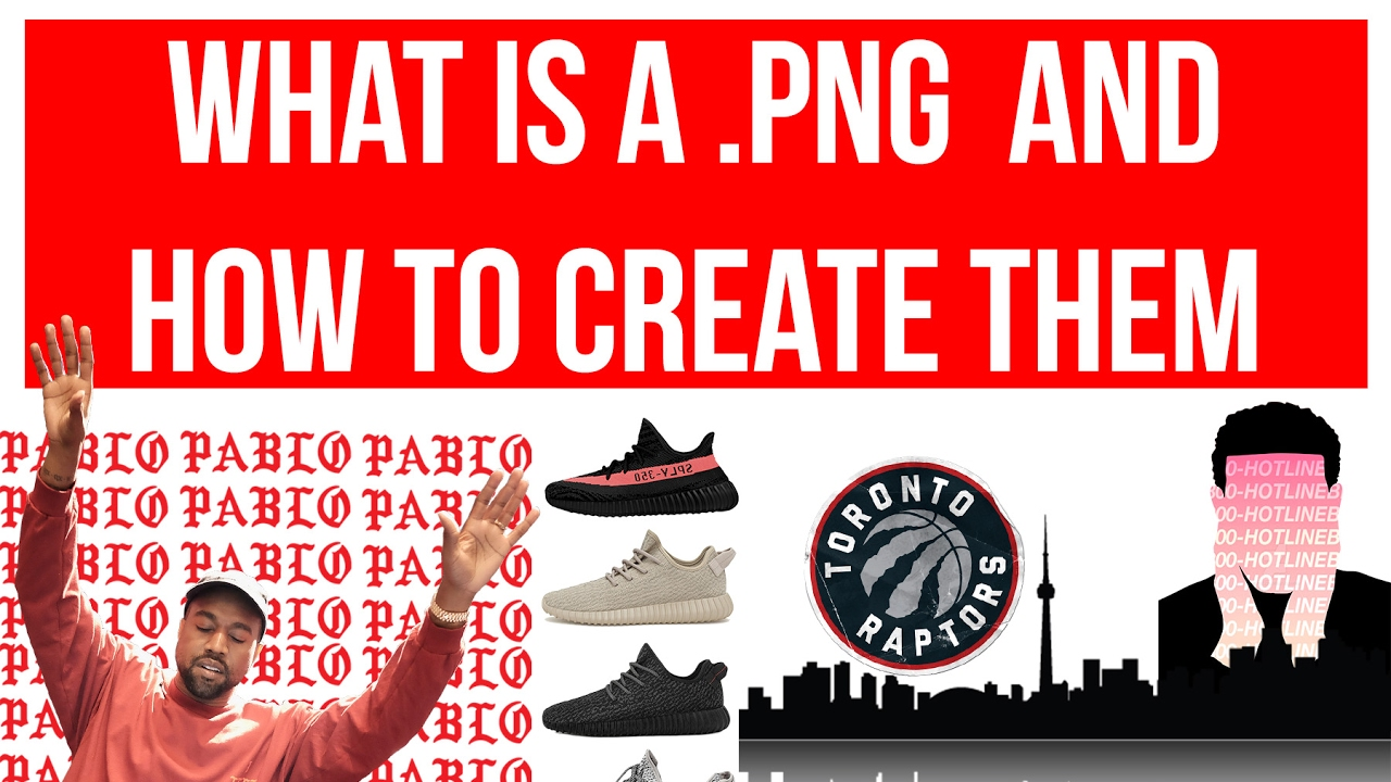 how to create a png photoshop