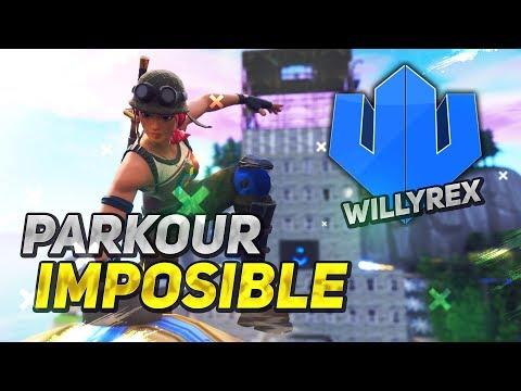 *COMPLETO EL PARKOUR IMPOSIBLE DE WILLYREX* FORTNITE