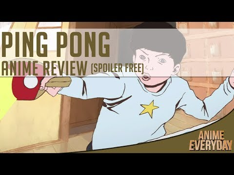 Ping Pong The Animation Anime Review - AnimeEveryday Anime Reviews