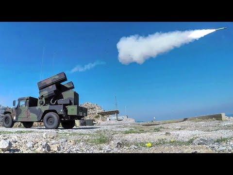 Avenger Missile System – Stinger Missile Live-fire Exercise In Greece