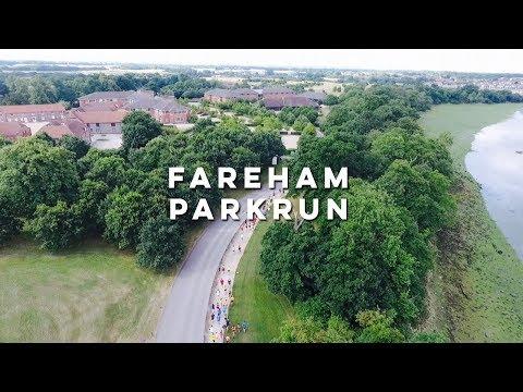 Fareham parkrun - Aerial Highlights