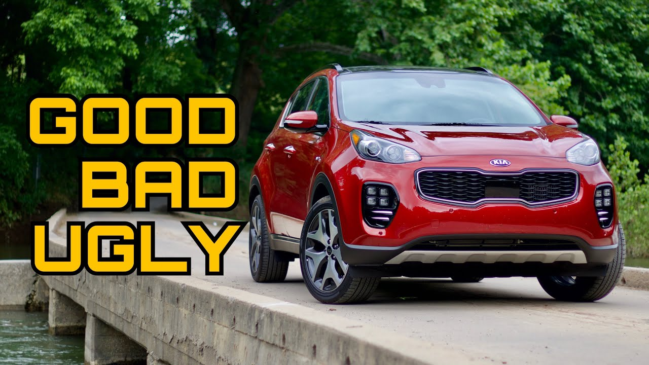 2018 Kia Sportage Sx Awd Review The Good The Bad The Ugly Youtube