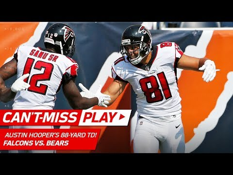 Since we're posting players getting stiff-armed out of the NFL, here's Austin Hooper on Quentin Demps week 1 of 2017. He went on IR three weeks later and has been a free agent since
