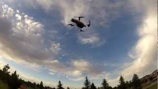 AR Drone Flip - RC Helicopter - Test in Green Valley Ranch