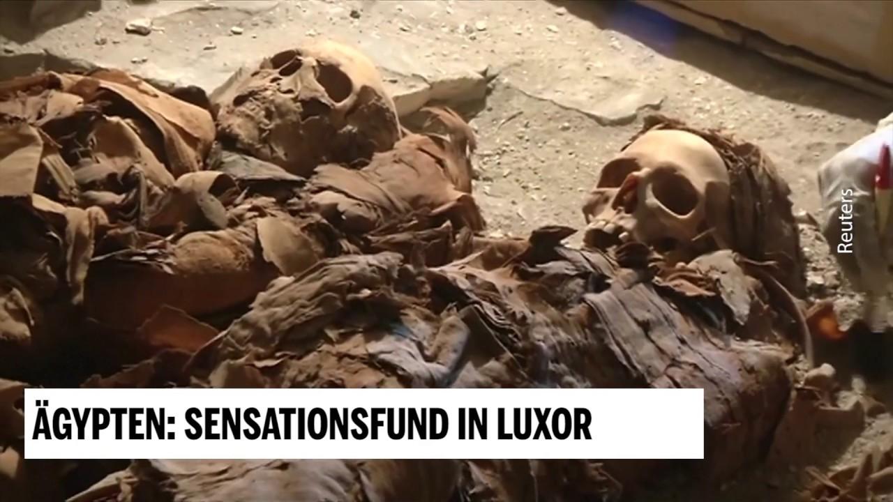 Sensationsfund In ägypten