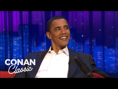 "Barack Obama's 2006 Interview On ""Late Night With Conan O'Brien"""