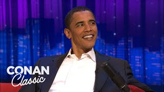 Barack Obama's 2006 Interview On 'Late Night With Conan O'Brien'