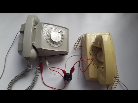 Wiring    2 old telephones  YouTube