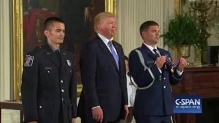 White House Medal of Valor Presentation (C-SPAN)