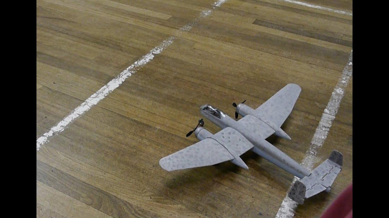 Heinkel He 219 Night Fighter Indoor Scratch Built Model