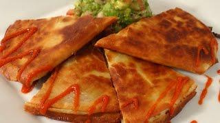 Roasted Vegetable Quesadillas With Rustic Avocado Salsa