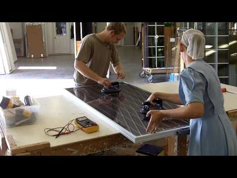 How to make a solar panel part 2 youtube for How to build a solar panel for kids