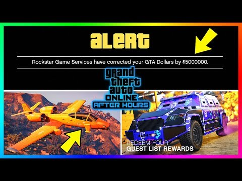 GTA Online After Hours DLC Update - CRAZY FREE MONEY, NEW Vehicle Added, Car Upgrades & MORE!