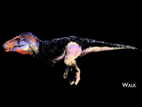 Saurian Tyrannosaurus Animations (WIP)