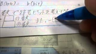 2進数と16進数の解説