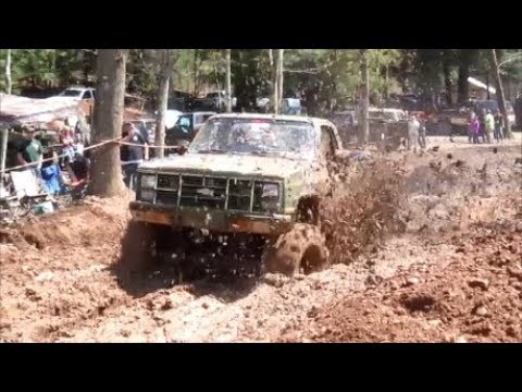 2018 PINE SWAMP  MUD BOG/ PART 1/PLAY BY PLAY ACTION