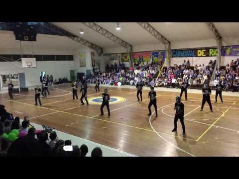Baile hombres alianza Carnaval de Mexico CCLA 2016