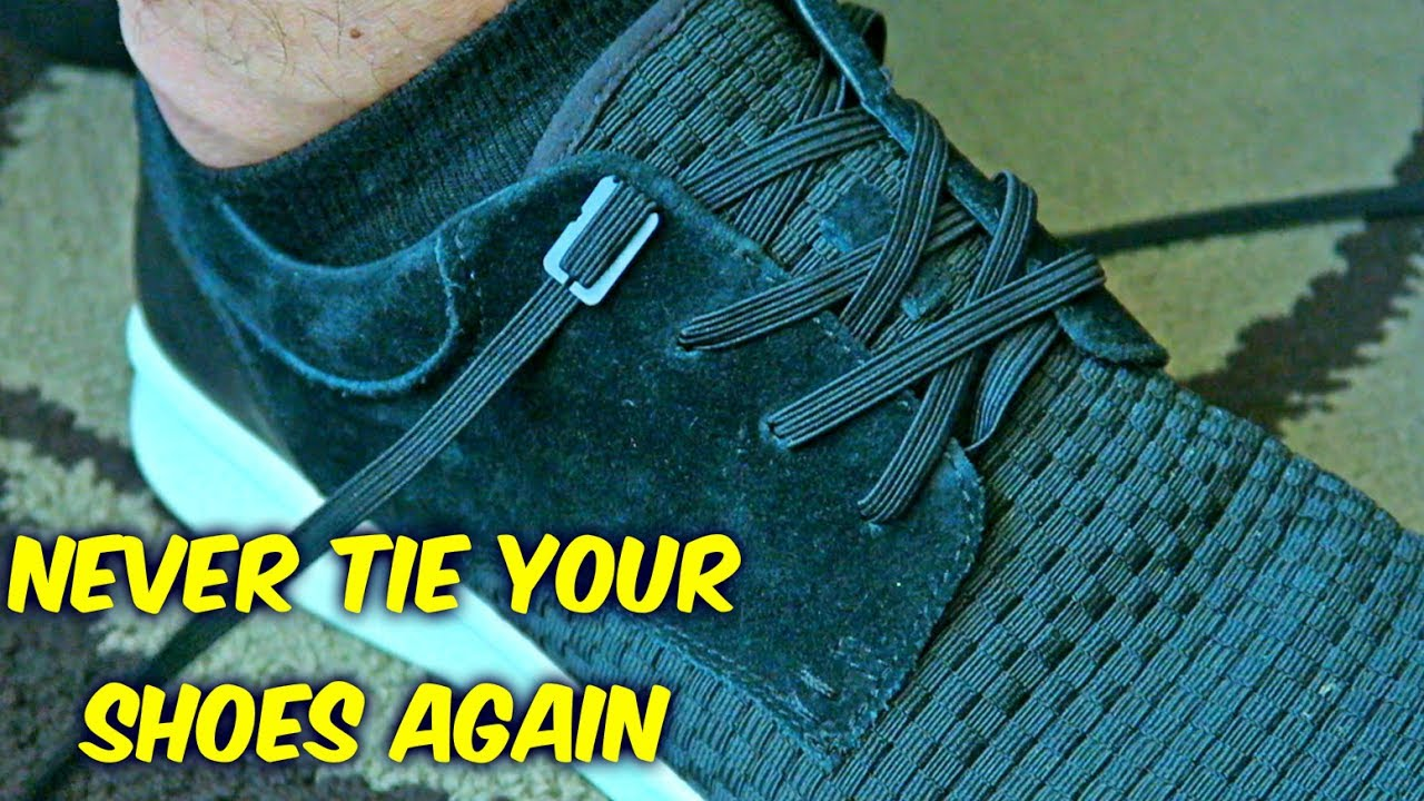 Never Tie Your Shoes Again - YouTube