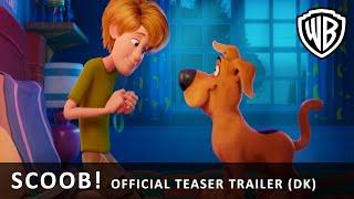 SCOOB! - Official Teaser Trailer (DK)