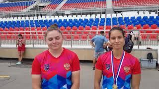 Ксения Курач и Олеся Никифорова- чемпионки России-2018 в гребле на каноэ-двойке 200 м