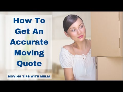 How To Get An Accurate Moving Quote  | JTMelia Moving Company