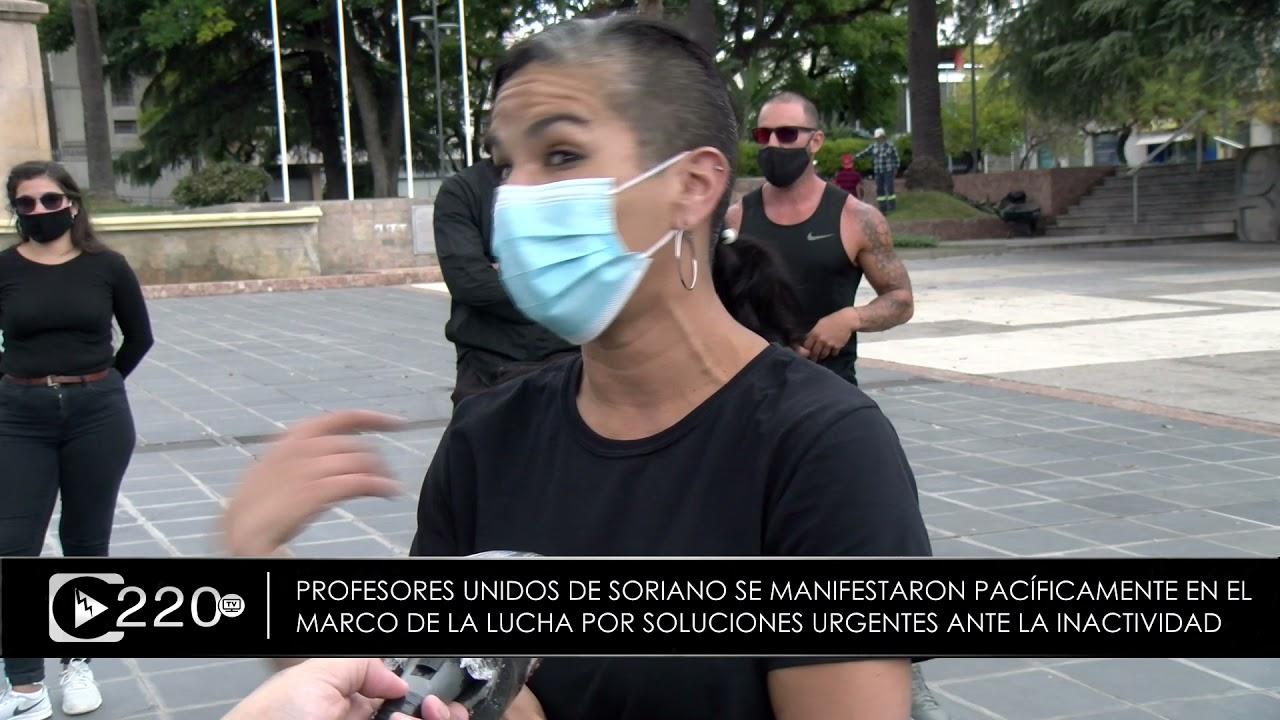 Profesores Unidos de Soriano movilizados por urgentes soluciones