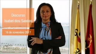 Discurso de Isabel dos Santos