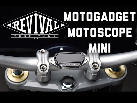 Motoscope Mini - Revival Cycles Tech Talk