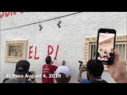 A Mural Takes On New, Tragic Meaning In A Mourning El Paso
