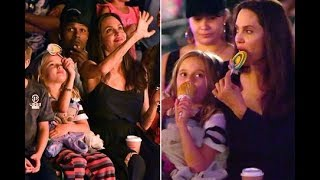 Angelina and kids enjoy a day at Disneyland to celebrate twins Knox and Vivienne's birthday