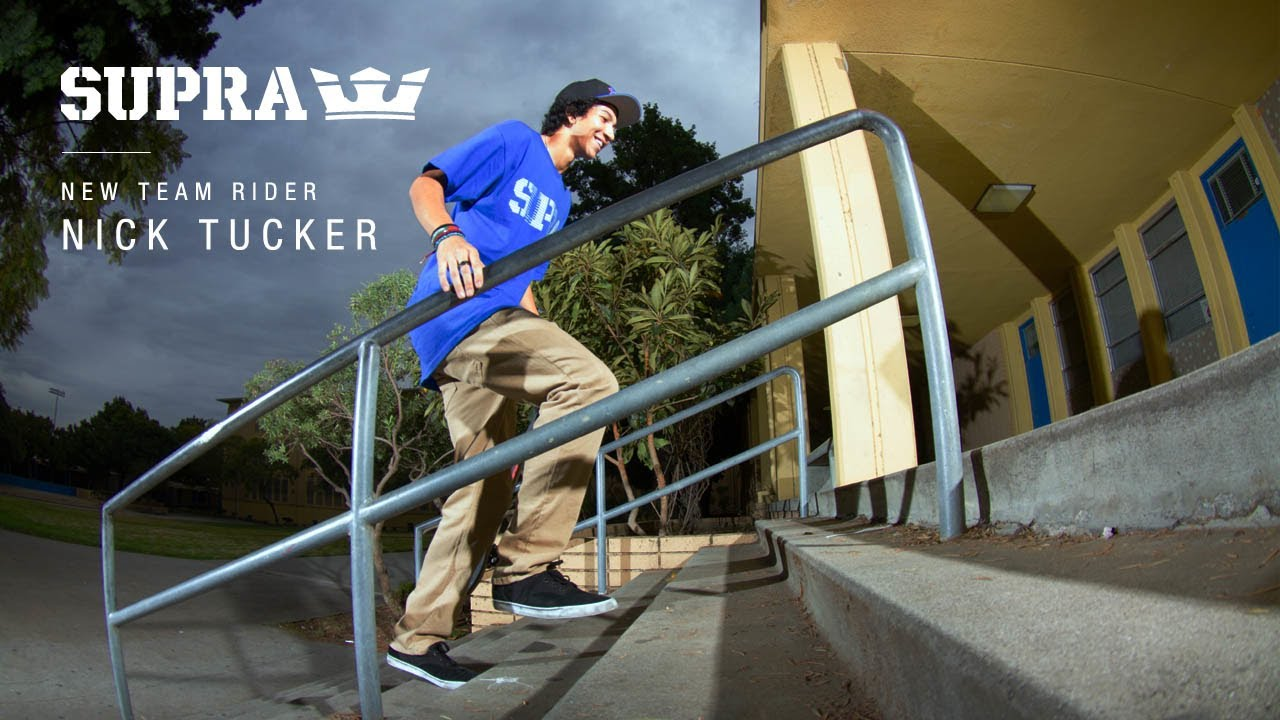 New Team Rider Nick Tucker. SUPRA Footwear 94e535ba7cf7