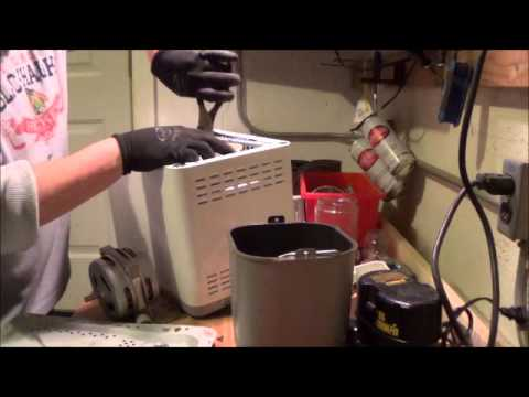 Whats inside a bread maker? Scrap value for copper and aluminum and stainless steel!