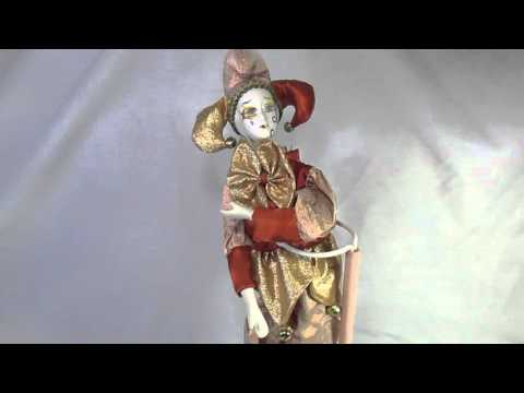 Wind Up Porcelain Doll 111