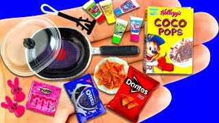 28 DIY miniature Food and Kitchen Utensils | Realistic Hacks and Crafts !!!