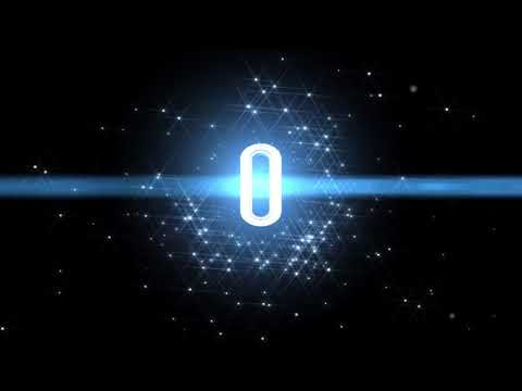 10 Sec Countdown Space Animation Royalty Free Video Effect Footage AA VFX HD